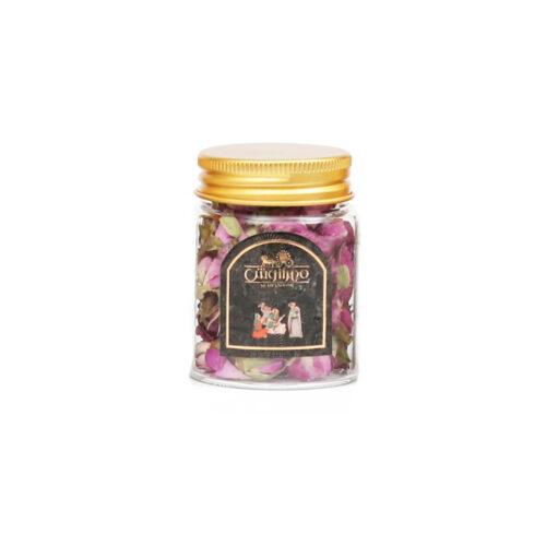 گل محمدی شیشه ای 15 گرمی
