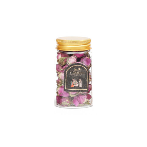 گل محمدی شیشه ای 18 گرمی