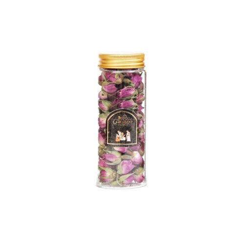 گل محمدی شیشه ای 20 گرمی