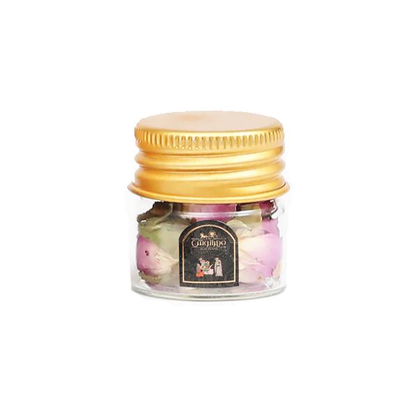 گل محمدی شیشه ای 2 گرمی