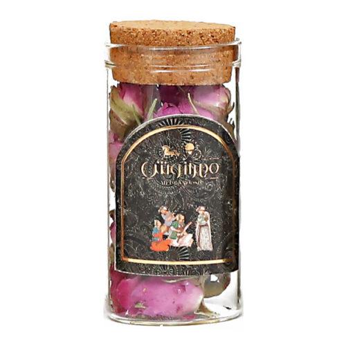 گل محمدی شیشه ای 5 گرمی