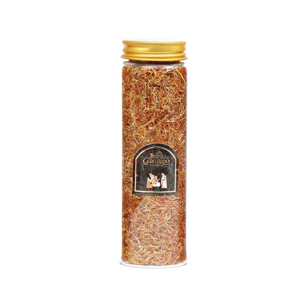 ریشه زعفران شیشه ای 40 گرمی مهرآنوش